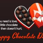 Chocolate Day Special Status Pinterest