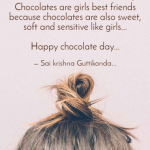 Chocolate Girl Quotes