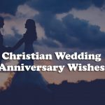 Christian Wedding Anniversary Messages