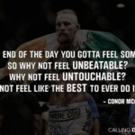 Conor Mcgregor Motivational Quotes Pinterest