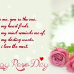 Cute Rose Day Quotes Facebook