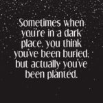 Darkness Positive Quotes