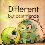 Different But Best Friends Twitter
