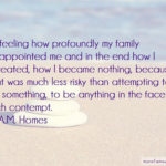 Disappointed Quotes For Family Facebook