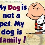Family Dog Quotes and Image