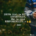 Drunk Girl Quotes