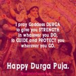 Durga Puja Wishes Quotes Facebook