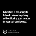 Educated Peoples Quotes Pinterest