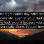 Encouraging Quotes After Death