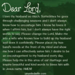 Encouraging Words To Husband