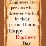 Engineer Day Special Thought Pinterest