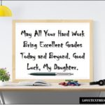Exam Wishes For Daughter Facebook