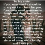 Family Sister Quotes