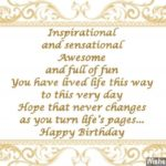 Famous Birthday Wishes