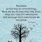 Famous Quotes About Balance In Life