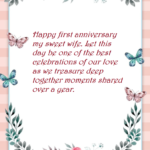First Marriage Anniversary Quotes Pinterest