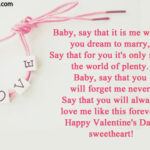 First Valentines Day Quotes For Him Pinterest