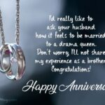 First Wedding Anniversary Wishes For Sister Facebook