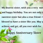 First Wedding Anniversary Wishes For Sister Tumblr
