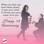 First Wedding Anniversary Wishes To Wife Facebook