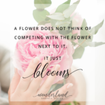 Flower And Woman Quotes Facebook