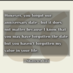 Forgot Anniversary Quotes Pinterest