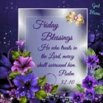 Friday Blessings Quotes And Pictures Pinterest