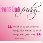 Friday Saying Of The Day