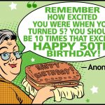 Funny 50th Birthday Sayings Twitter