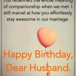 Funny Birthday Message For Husband