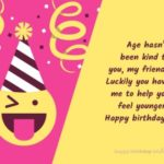 Funny Birthday Wishes For Best Friend Boy