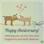 Funny Wedding Anniversary Wishes For Couple