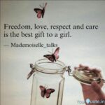 Girls Freedom Quotes