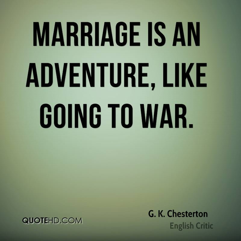 Gk Chesterton Quotes On Marriage