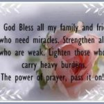 God Bless My Family And Friends Quotes Twitter