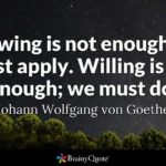 Goethe Famous Quotes Twitter