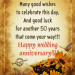 Golden Anniversary Wishes