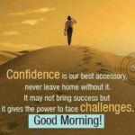 Good Morning Confidence Quotes