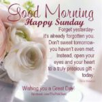 Good Morning Happy Sunday Quotes Facebook