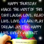 Good Morning Its Thursday Quotes Pinterest