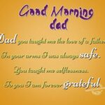 Good Morning Messages For Father Tumblr