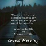 Good Morning Quotes On Trust Facebook