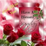 Good Morning Sunday Blessing Images