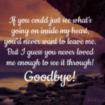 Goodbye Message For Boyfriend