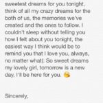 Goodnight Text For Girlfriend Tumblr
