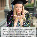 Graduation Message Of A Mother To Her Daughter