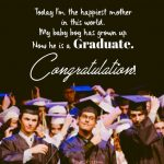 Graduation Sayings From Mom To Son Pinterest