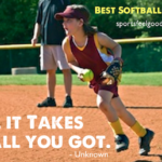 Great Softball Quotes Pinterest