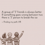Group Of 3 Best Friends Quotes