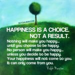 Happiness Is A Choice Quotes Pinterest